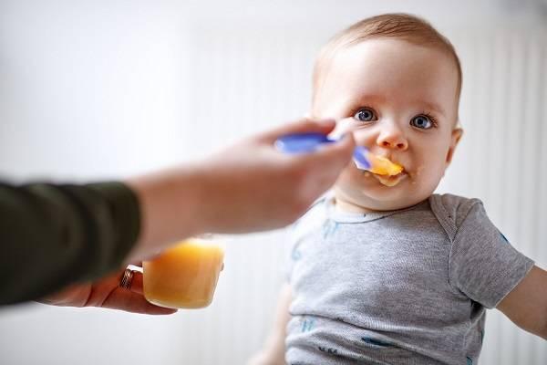 Education du gout de bébé
